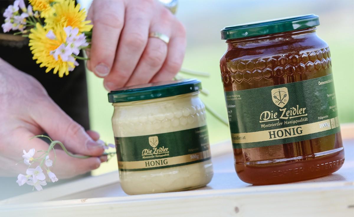 Die Zeidler - Mostviertler Honigqualität (Copyright: Doris Schwarz-König)