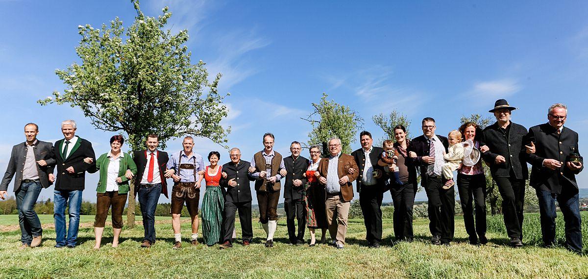 Die Gruppe der Mostviertler Zeidler (Foto: Doris Schwarz-König)